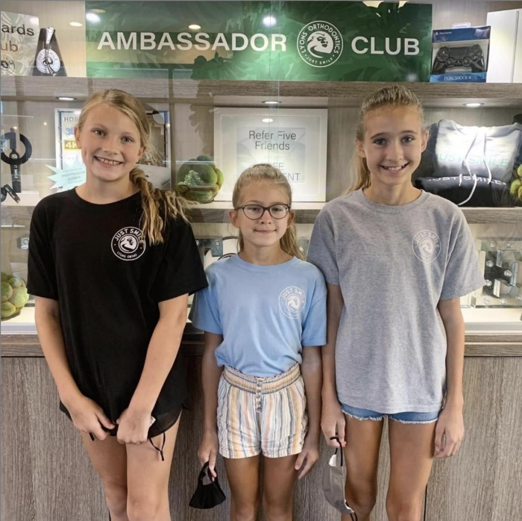 Lyon's Orthodontics Ambassador club - Lyons Orthodontics